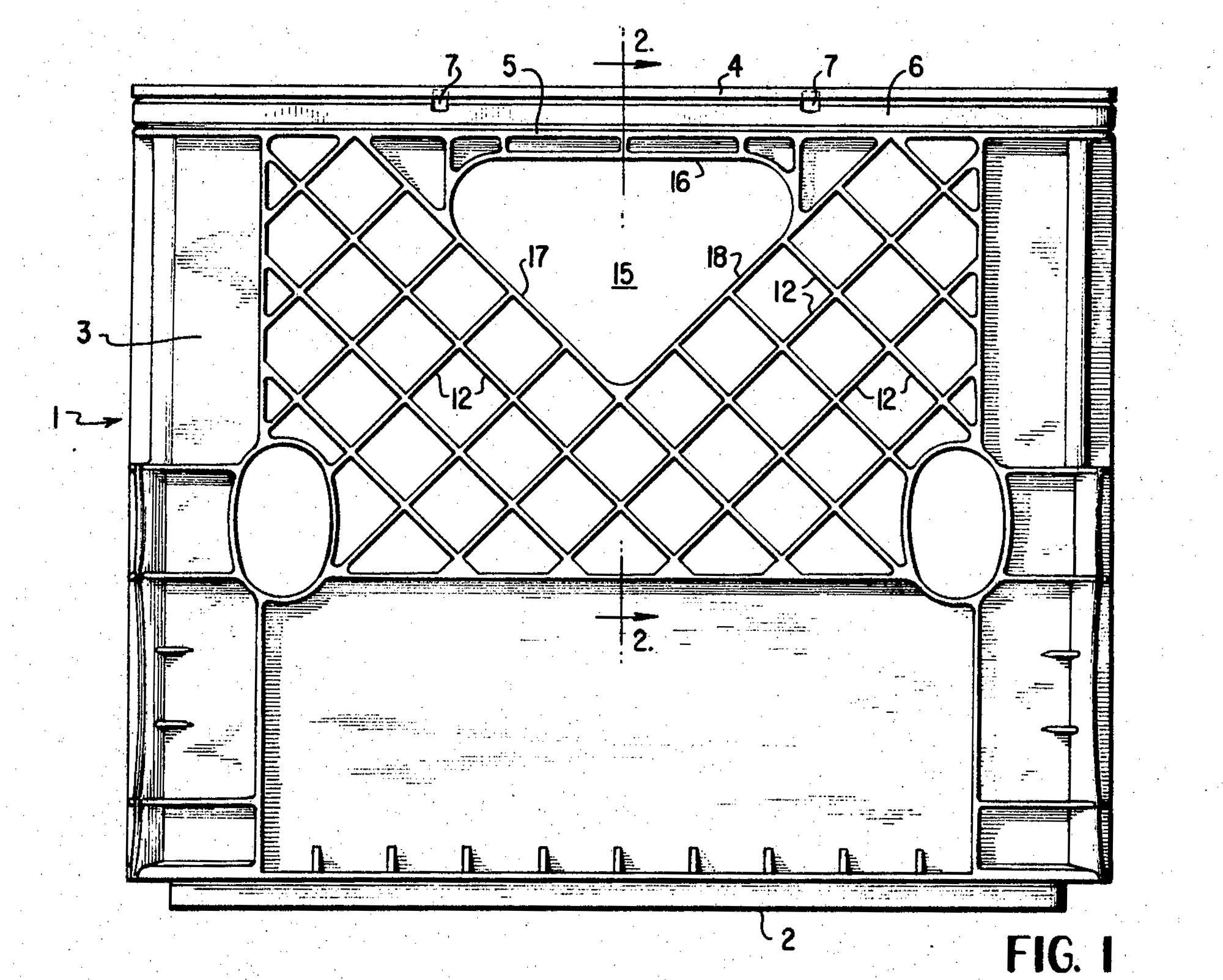 Milk Crate Patent Example